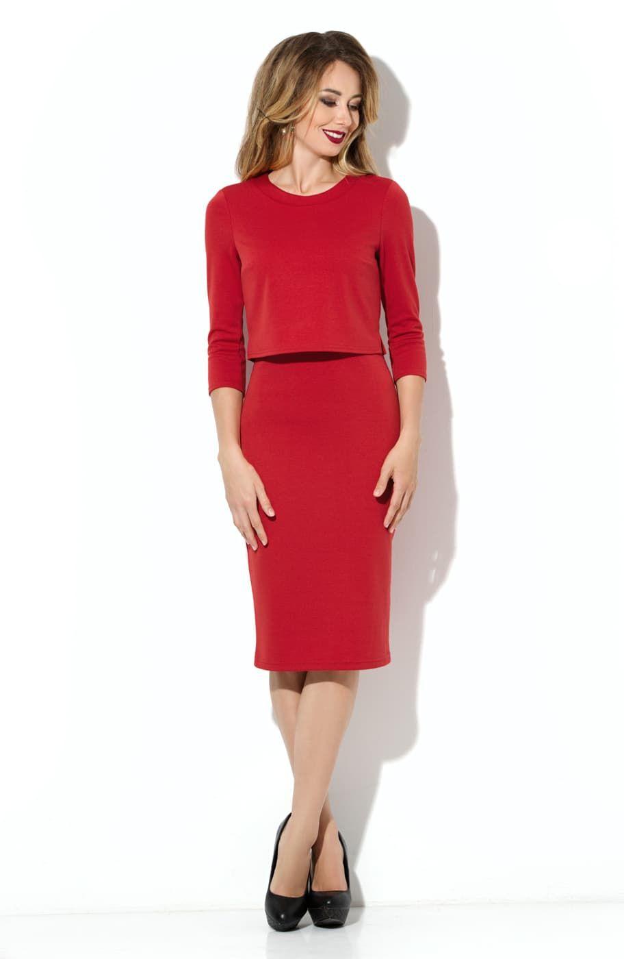 38a2cf2091e Платье из джерси Donna-Saggia DSP-75-29t от производителя
