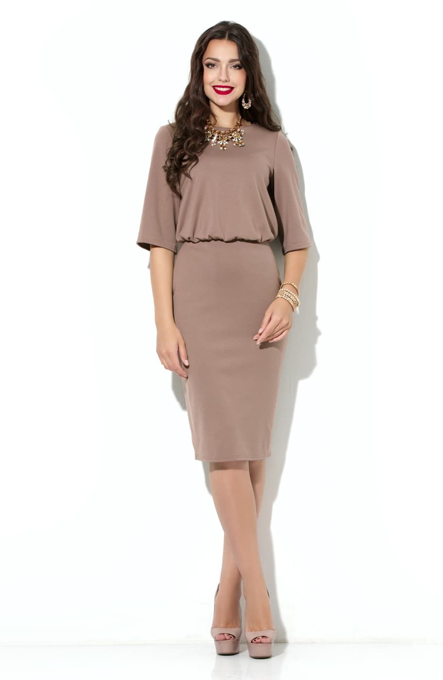 f43d352d918 Платье из джерси Donna-Saggia DSP-199-26t от производителя