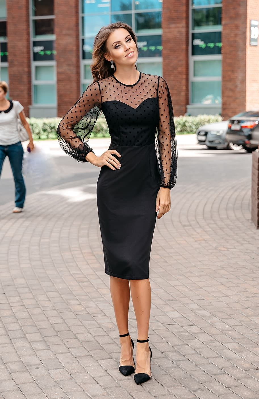 b852c4871fa Платье футляр Donna-Saggia DSP-349-6 от производителя